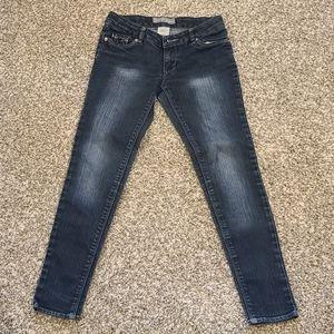 Levi's Skinny Jeans w/ Bling Pockets